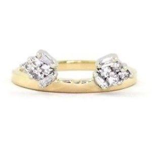Jewelry - DIAMOND RING GUARD WRAP ENHANCER 14K YELLOW GOLD B